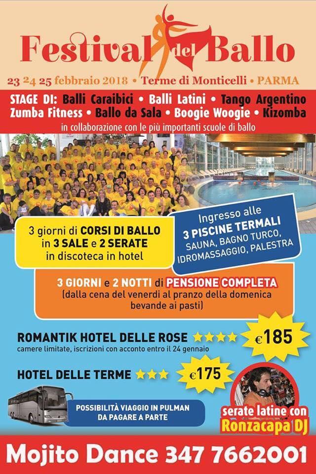 Pasqua Tango Festival Monticelli Terme PR
