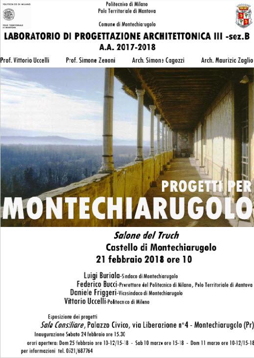 Progetti per Montechiarugolo 2018