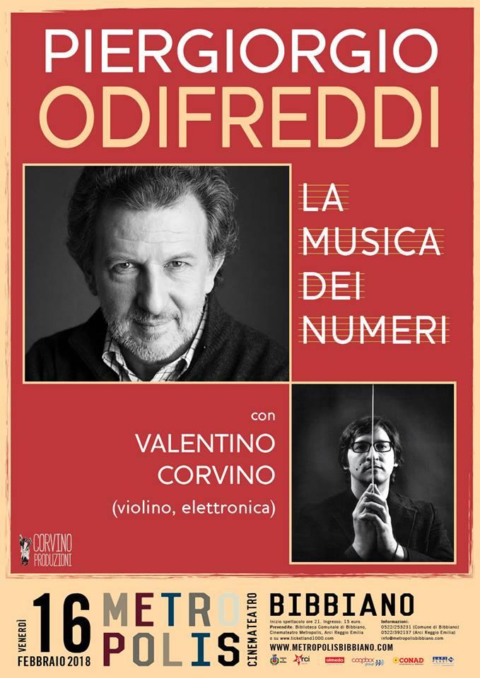 """Piergiorgio Odifreddi """"La musica dei numeri"""""""