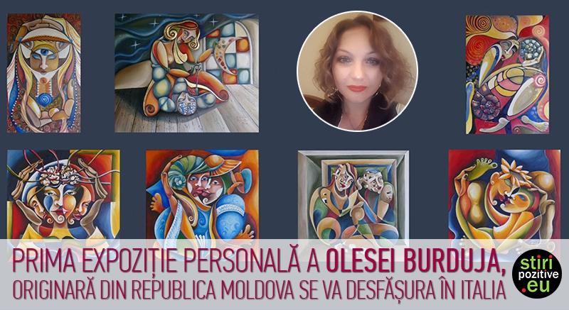 Gli Specchi mostra personale Burduja Olesea