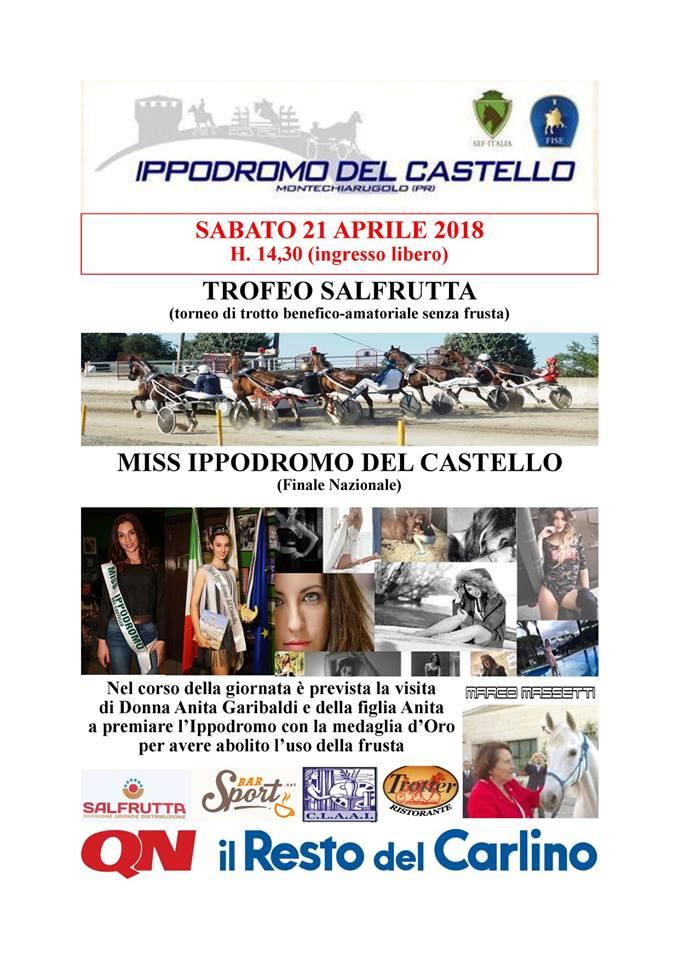 Finale Miss Ippodromo del castello 2018