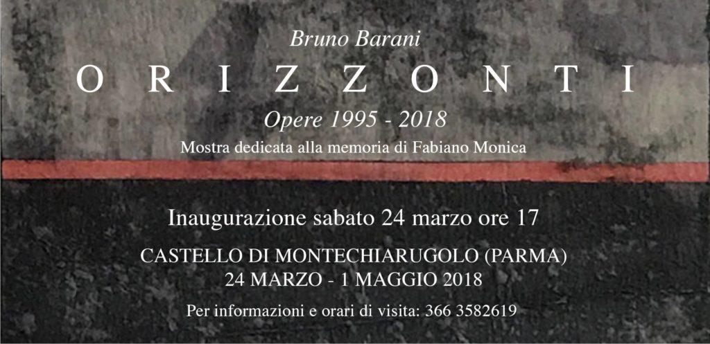 Bruno Barani Orizzonti - Opere dal 1995 al 2018
