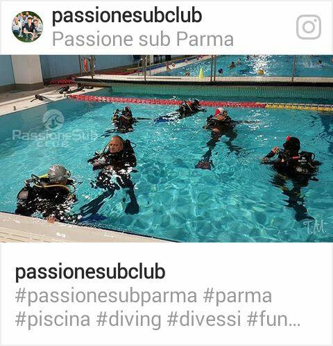 Passione sub club Parma centro subacqueo SSI