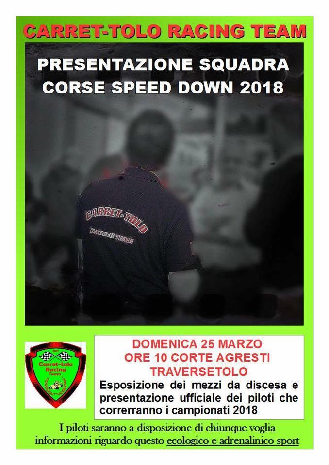 Squadra Speed down Traversetolo 2018