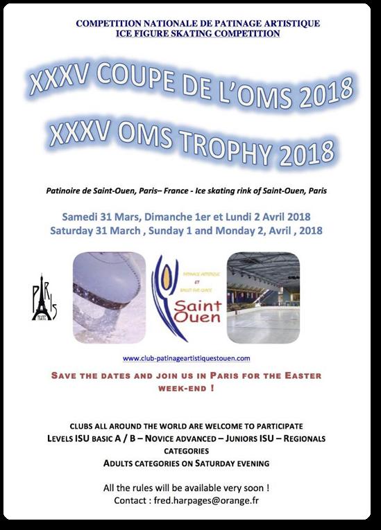 Coupe de l'OMS 2018 Saint Ouen