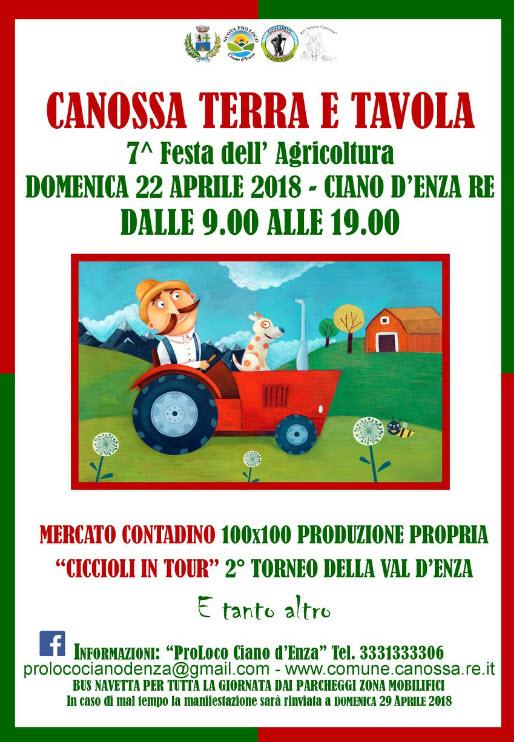 """7° edizione di """"Terra e Tavola"""" a Ciano d'Enza"""