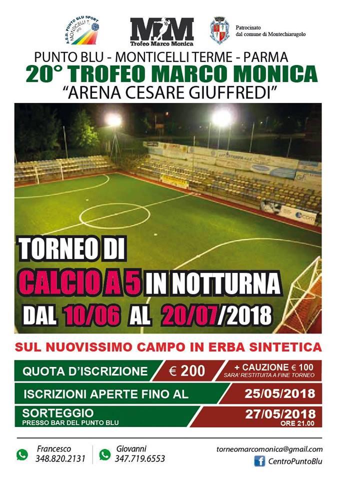 20° trofeo Marco Monica Punto Blu Monticelli terme 2018