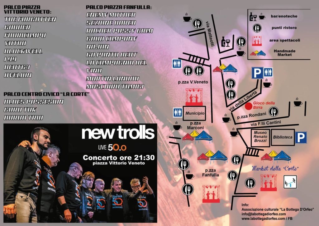 Concerto 1° Maggio 2018 - Rock in Traversetolo