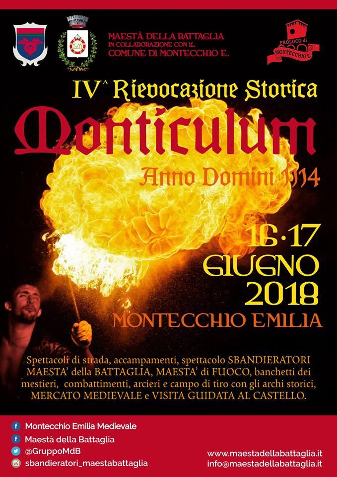 Monticulum AD 1114 IV edizione 2018