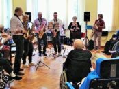 "Ramiola Villa di Riposo ""sax in the city""2018"