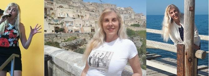Cinzia Felloni cantante di Parma e amica di Red Canzian