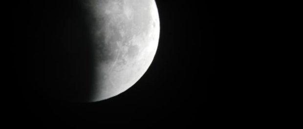 Eclissi Lunari 2018 viste da Montechiarugolo Parma