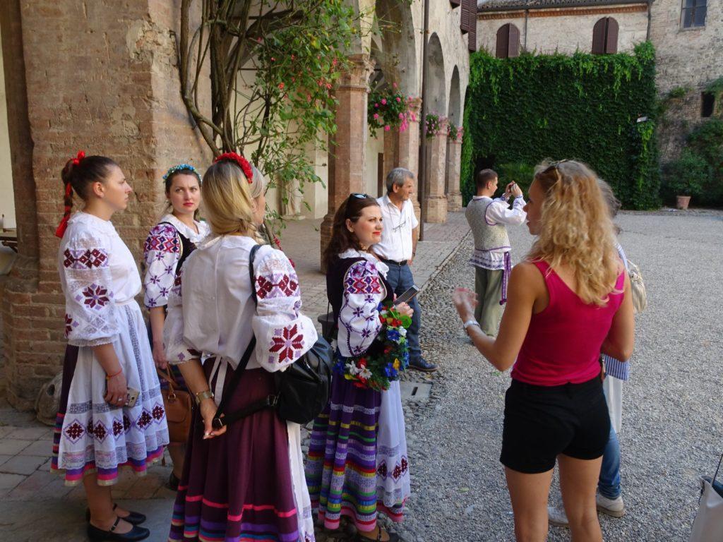 Montechiarugolo e Fondazione folk Bielorusso Gomel