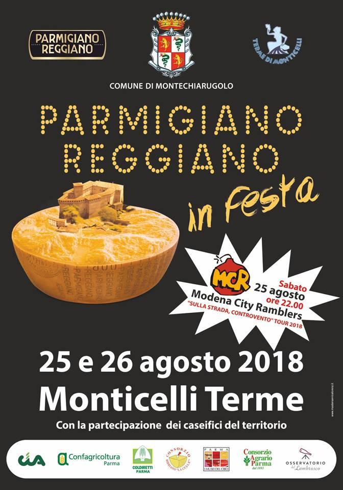 Parmigiano Reggiano in festa 2018 Monticelli Terme