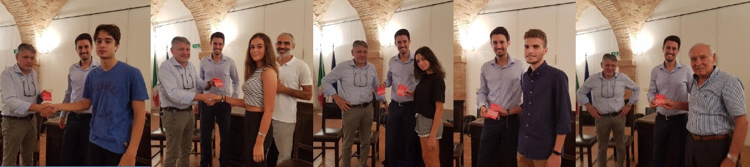 Premiazione YoungER Card Comune Montechiarugolo 2018