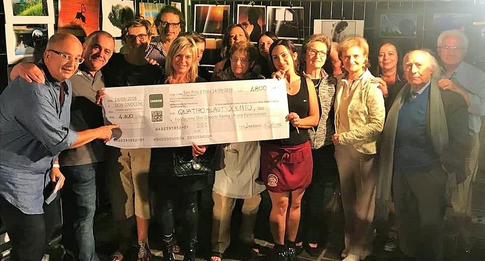 Donazione alla Fondazione Don Gnocchi Parma Parkinsoniani