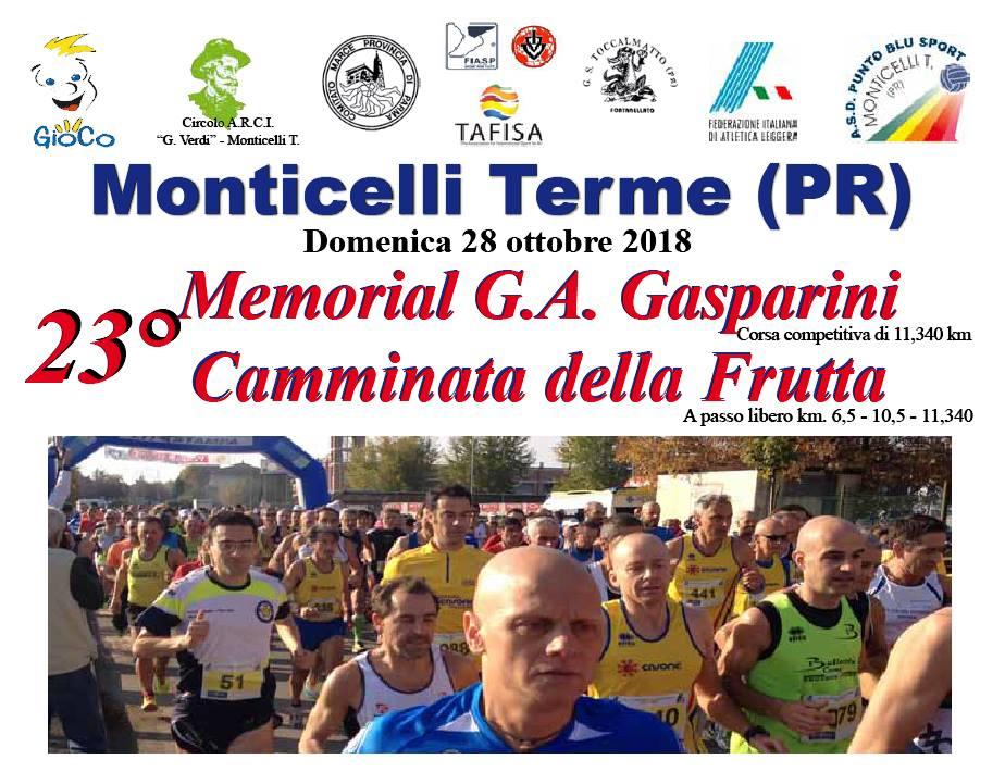 23° Memorial Gasparini e Camminata della Frutta