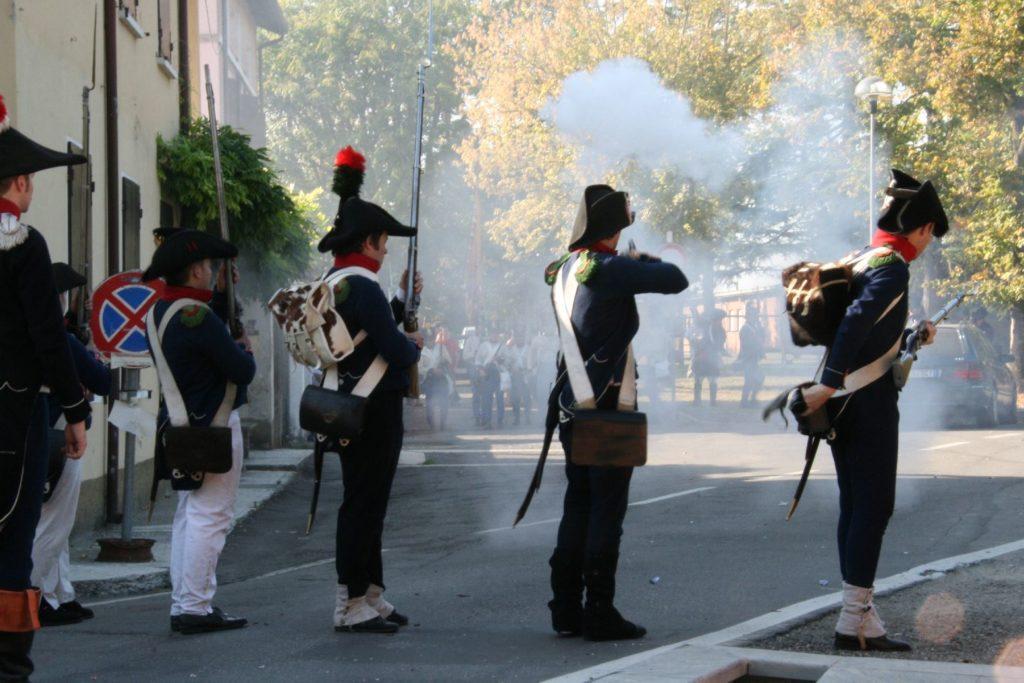 4 Ottobre La Battaglia di Montechiarugolo