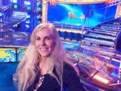 Cantante parmigiana Cinzia ospitata a Striscia la Notizia