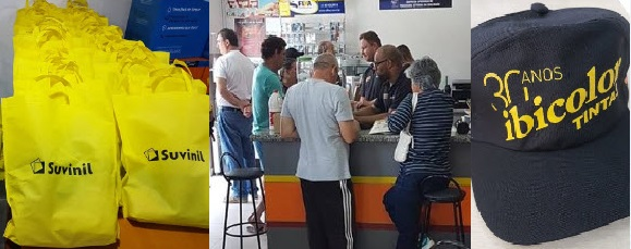 Ibicolor Tintas SãoRoque - MAIRINQUE 30 anos