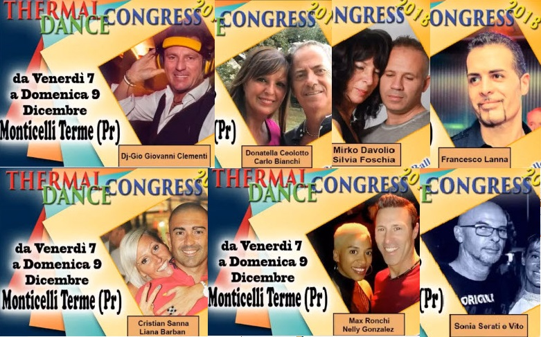 Thermal Dance Congress Monticelli terme 2018