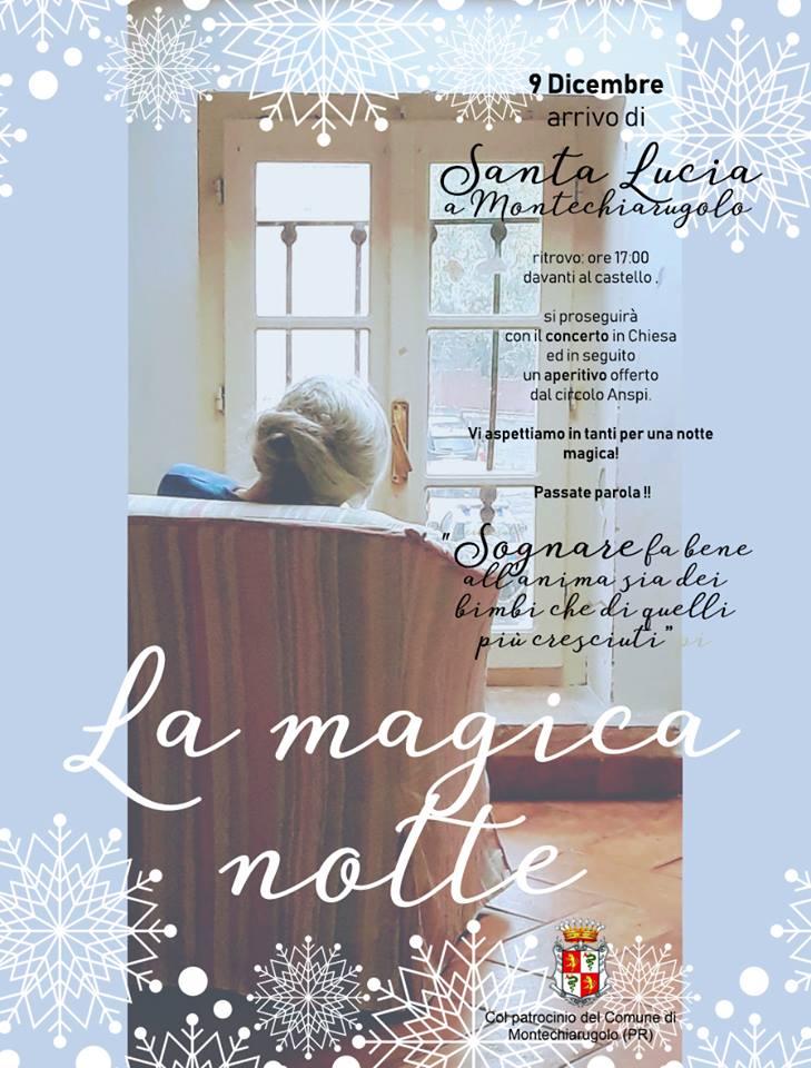 La magica notte Santa Lucia Montechiarugolo 2018