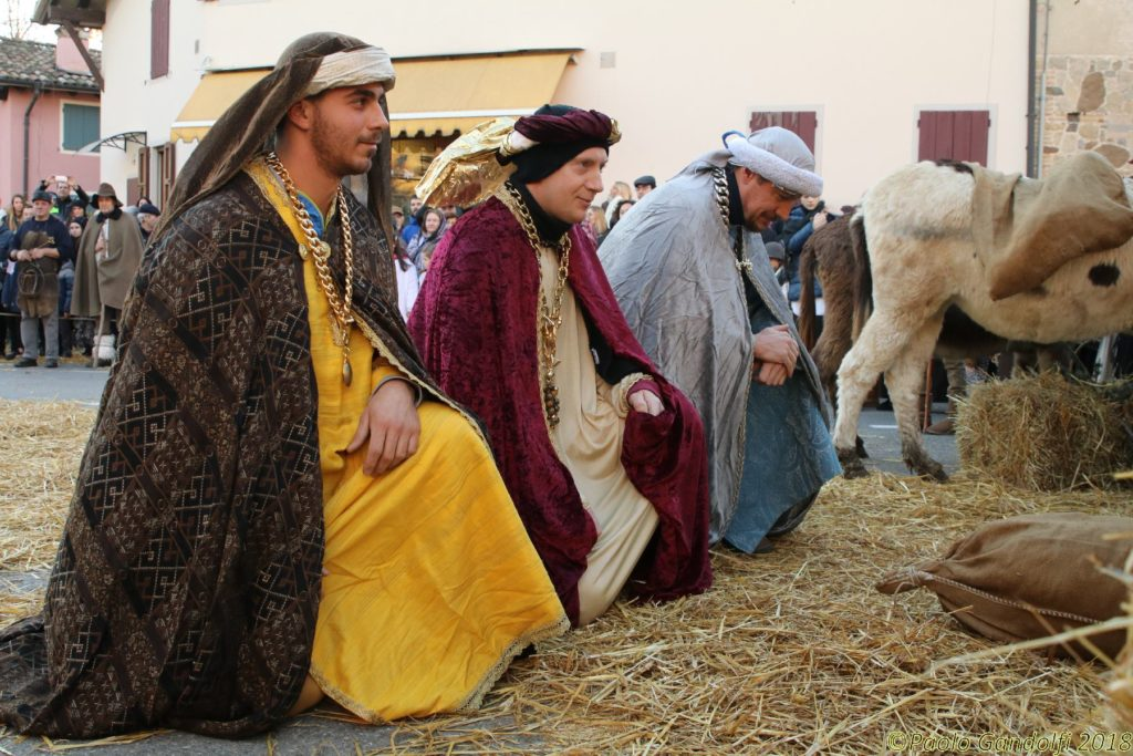 Presepe vivente Basilicagoiano PR 2018