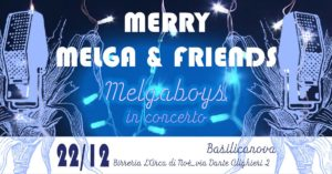 Merry Melga & Friends cover band di Parma 2018