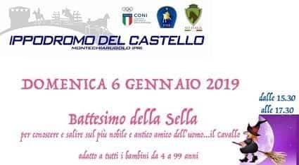 Ippodromo del Castello Battesimo della sella 2019