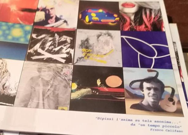 Giorgio Barassi artista dipinge le canzoni di Franco Califano