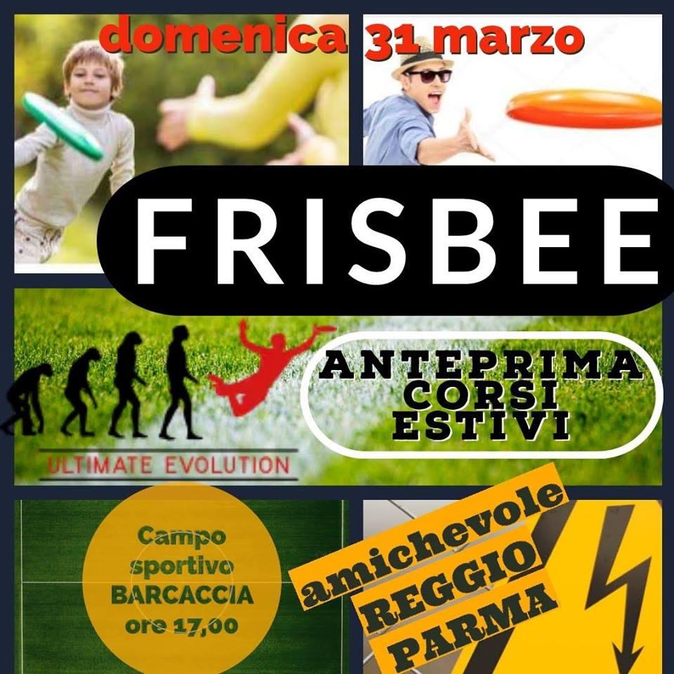 Frisbee Patita Amichevole Organizzato da Energie ASD 2019