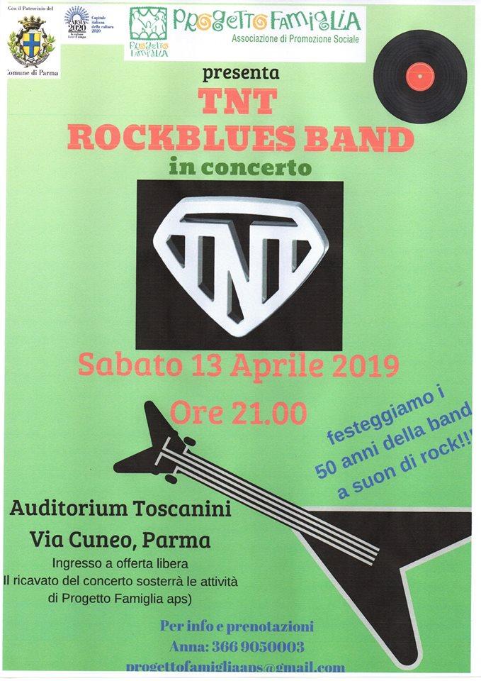 TNT Band Parma in concert for Progetto Famiglia 2019