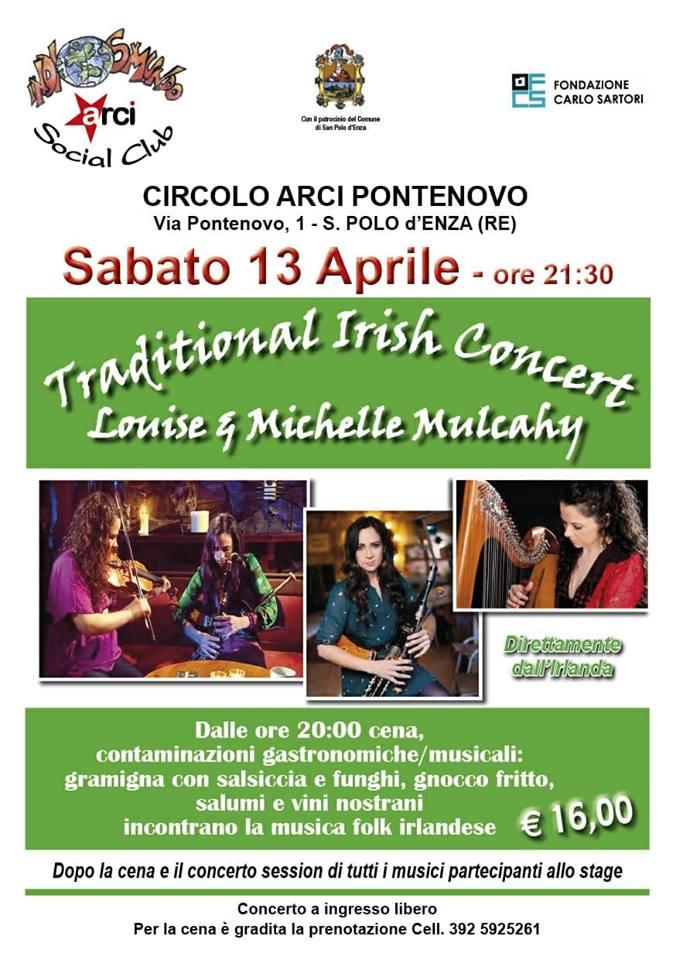 Tradizional Irish Concert Circolo Ricreativo Culturale Pontenovo