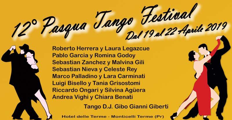 Pasqua Tango Festival 2019 Monticelli Terme – Parma