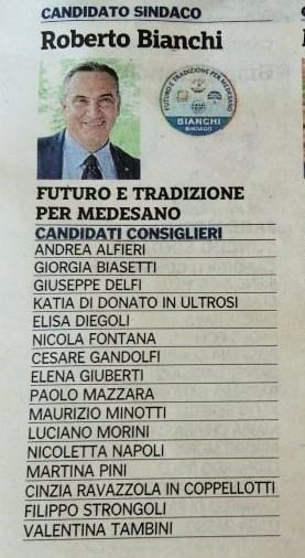 Strongoli Filippo Candidato Consigliere 19 anni Operatore Commercio