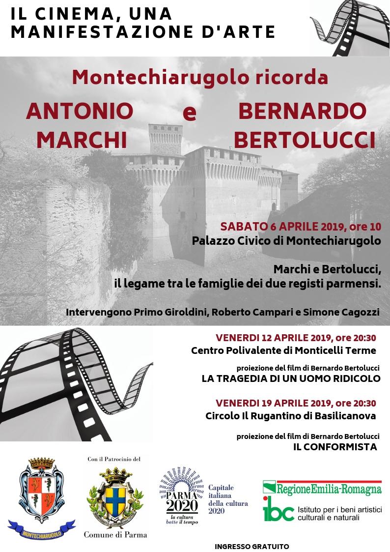 IL CINEMA, UNA MANIFESTAZIONE D'ARTE Montechiarugolo 2019