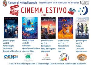 Cinema Estivo Comune di Montechiarugolo 2019