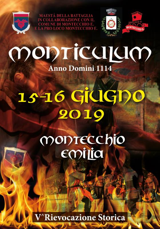Montecchio Emilia Medievale Giugno 2019