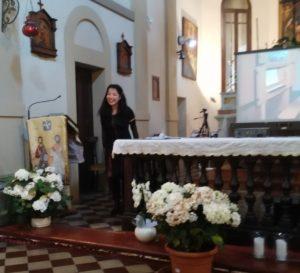 Akiko Kanazawa Organo chiesa San Quintino Montechiarugolo 2019
