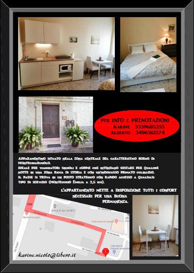 'All'Ombra del castello'alloggio Montechiarugolo 2019