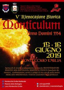 Monticulum AD 1114 V edizione Montecchio Emilia 2019