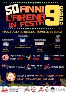 50 Anni Polisportiva Arena in Festa Montecchio Emilia 2019