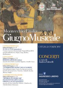 GIUGNO MUSICALE - 8° EDIZIONE MONTECCHIO EMILIA 2019