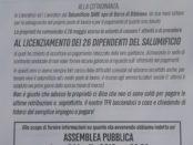 Lettera aperta Salvatore Ambrosino Sa-Re Bibbiano Reggio Emilia