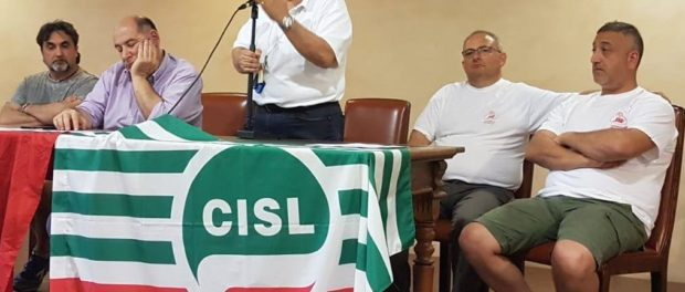 Sa-Re Bibbiano Reggio Emilia Presidio lavoratori 2019