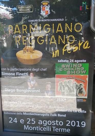 Monticelli terme Parmigiano Reggiano in festa 2019