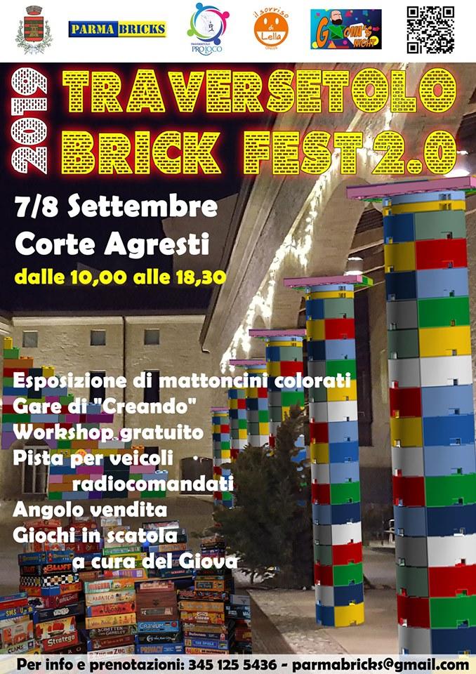 Traversetolo Brick Fest 2.0 presso Corte Agresti 2019