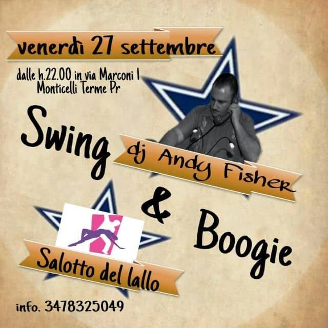 Swing & Boogie Night Salotto del Lallo Monticelli Terme 2019
