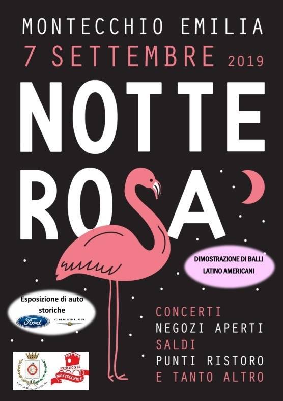 Notte Rosa di Montecchio Emilia settembre 2019