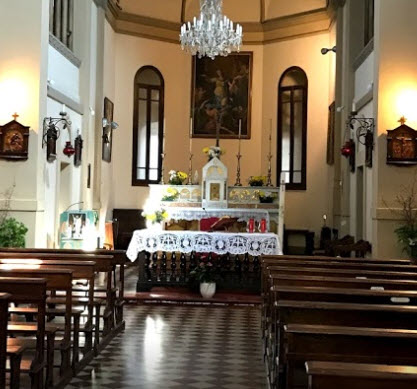 Chiesa san quintino Montechiarugolo